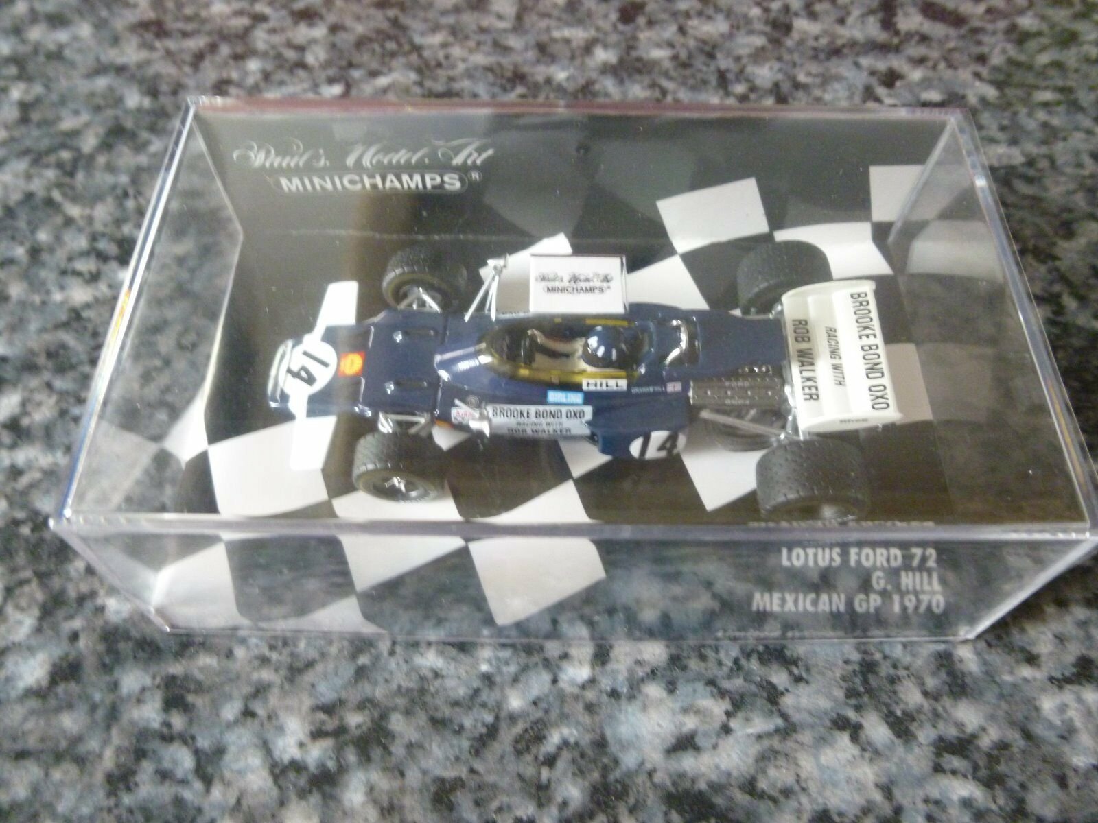 MINICHAMPS LOTUS FORD 72 1970-Hill