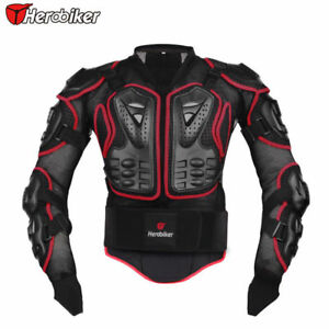 Motocross Motorbike Body Armour Motorcycle Protection Guard Jacket HEROBIKER