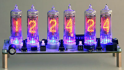 Emilija III Nixie Clock IN-16  russian Six Digit Tubes Tube Clock