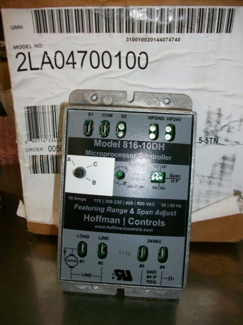 Hoffman Low Ambient Control Kit 2LA04700100 For1 5-5 Ton Packaged Rooftops -
