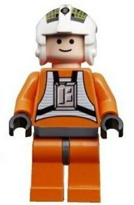 From 7658 Lego Star Wars Rebel Pilot Y-Wing sw094 Minifigure Figurine New