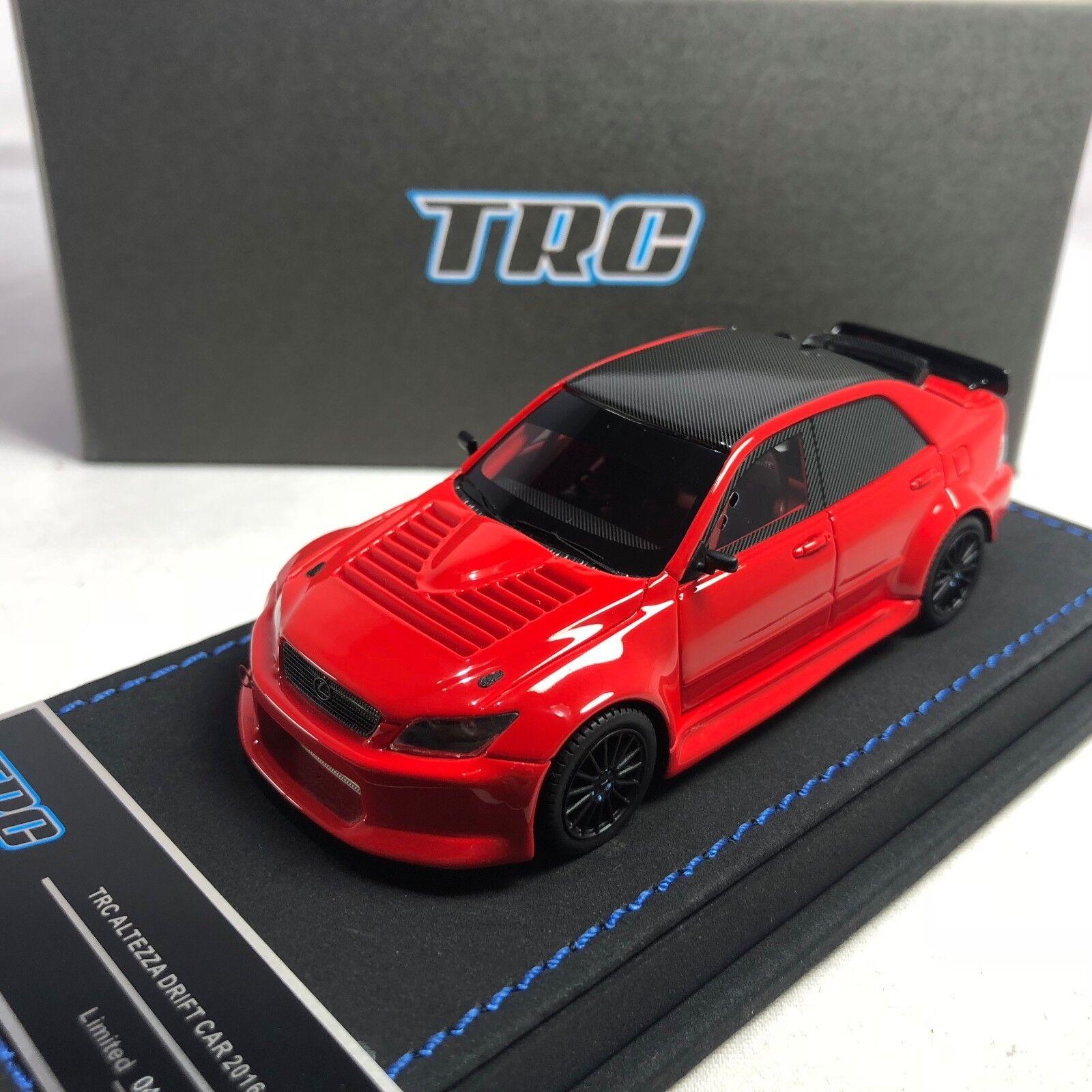 1 43 Peako Toyota Lexus Altezza Drift Car 2016 James Tang rosso Ltd 20 piezas TRC