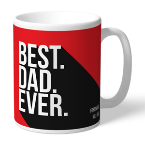 Adroit Sheffield United F.c - Personalised Ceramic Mug (best Dad Ever)