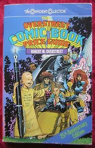 1995 the overstreet comic book price guide 25th anniversary rh ebay com the overstreet comic book price guide #47 the overstreet comic book price guide volume 46