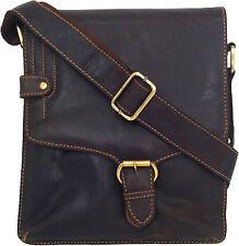 UNICORN Bolsa de cuero genuino - iPad, Tablet accesorios Bolsa - Marrón #4M
