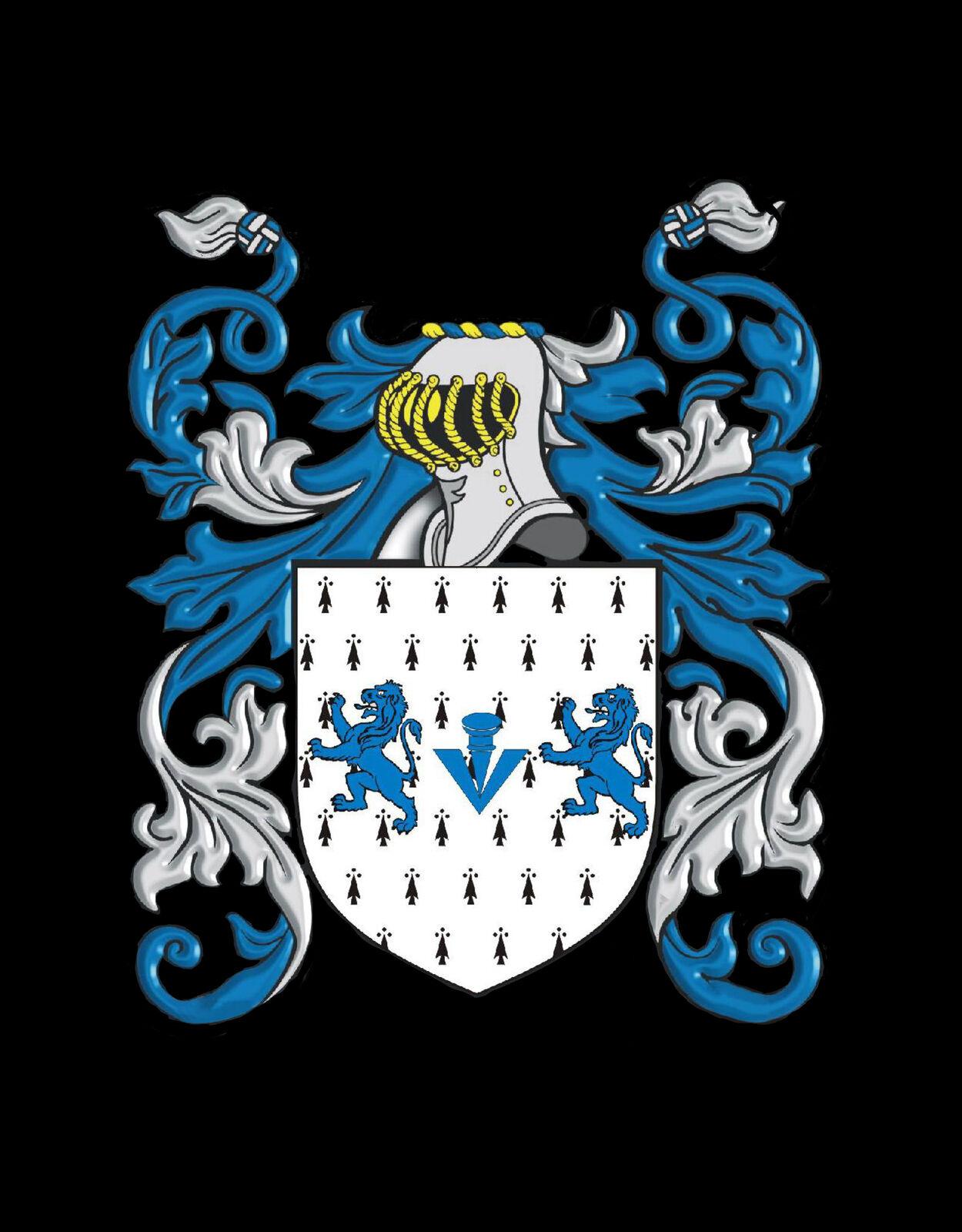 FARRAH Inghilterra STEMMA DI FAMIGLIA cognome STEMMA Gemelli custodia custodia custodia personalizzata e9e759