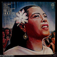 BILLIE HOLIDAY-THE FIRST VERVE SESSIONS-VERVE #VE-2-2503-Double Album
