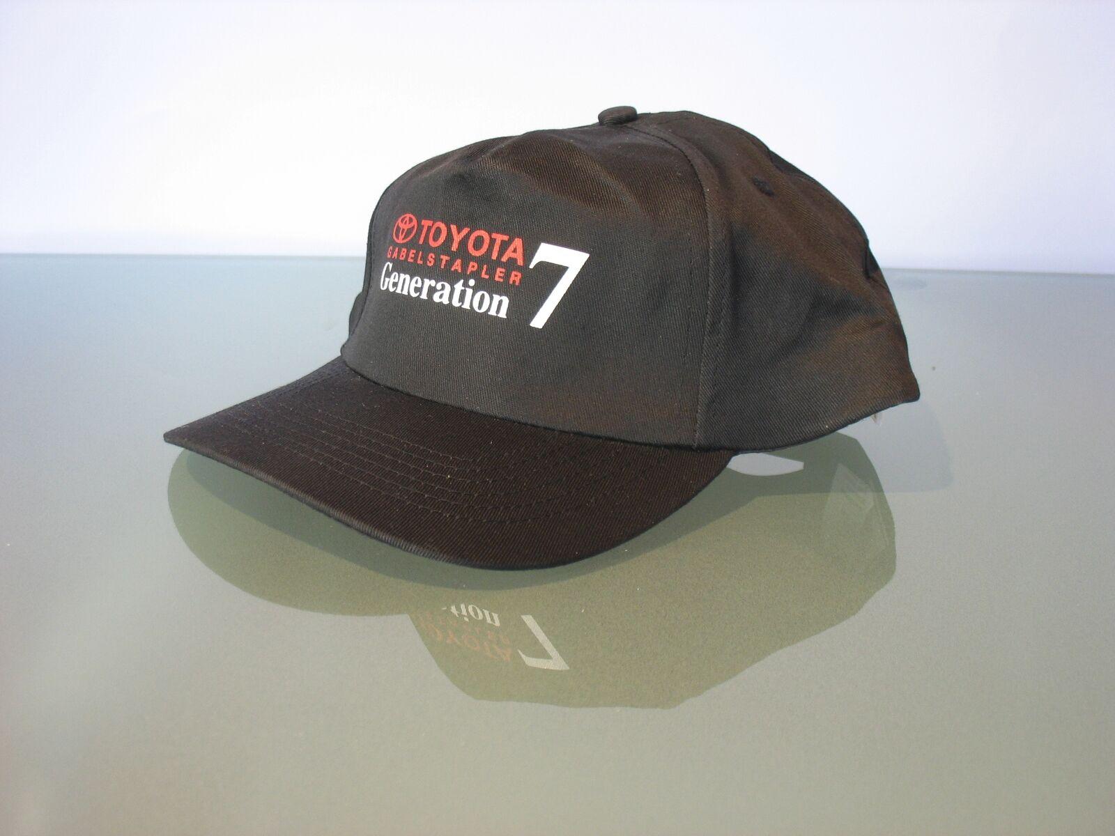 █► Baseball Cap Toyota Gabelstapler Generation 7 schwarz Kappe Mütze Hut NEU