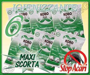 6 buste da 400g di polvere tappeti per battitappeto folletto bosch hoover imetec ebay - Polvere per tappeti folletto ...