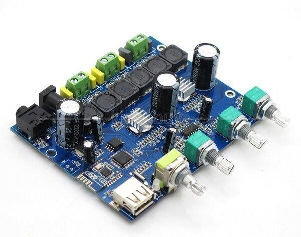 Bluetooth Module Digital 2.1 amplifier board TPA3110D6 APE WMA MP3 decoder 12v