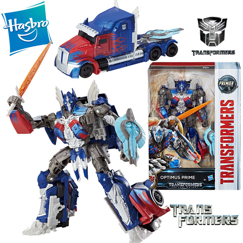 TRANSFORMERS 5 THE LAST KNIGHT OPTIMUS PRIME ACTION FIGURES PREMIER EDITION TOY