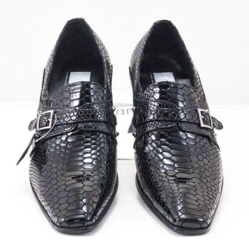 CK1471 Chris Kaadu Men Dress Comfort Shoe Loafer Black