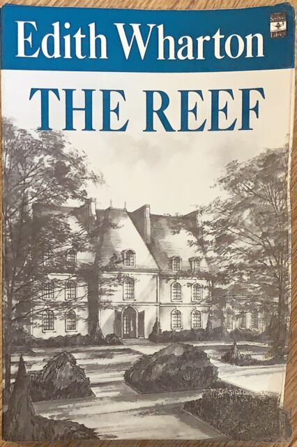 The Reef Paperback Novel by Edith Wharton 1965 Scribner Library FREE SHIPPING,