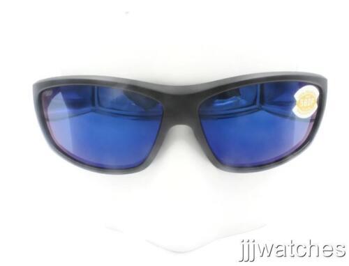 New Costa Del Mar Saltbreak Blackout Blue Polarized Sunglasses BK 01 OBMP $189