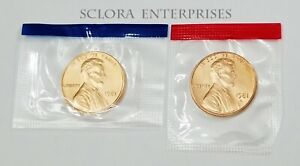 1981 P /& D Lincoln Memorial Cents From Uncirculated Mint Set Combined Shipping
