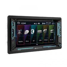 "NEW Soundstream Double 2 DIN VR-63B DVD/CD/MP3 Player 6.2"" LCD Bluetooth USB SD"
