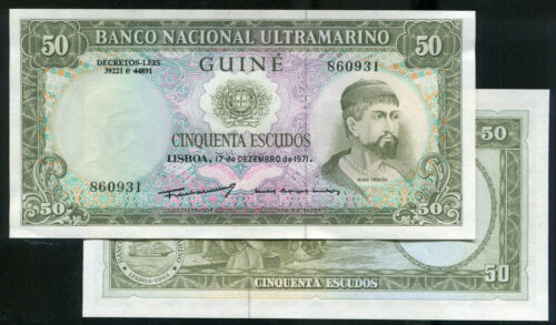 50-ESC. UNC 1971 P44, Portuguese Guinea p 44