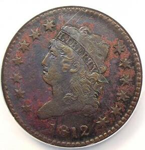 1812-Classic-Liberty-Head-Large-Cent-1C-S-288-Large-Date-NGC-XF-Rare-Key