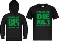 T-shirt / Kapuzensweat Gladbach Die Nr.1 Westen Hoodie Mönchengladbach Trikot
