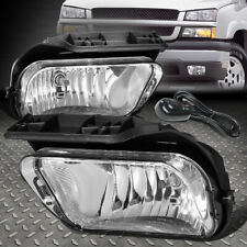 For 02 06 Chevy Avalanche Silverado Clear Lens Bumper Fog Light Lamps Withswitch Fits More Than One Vehicle