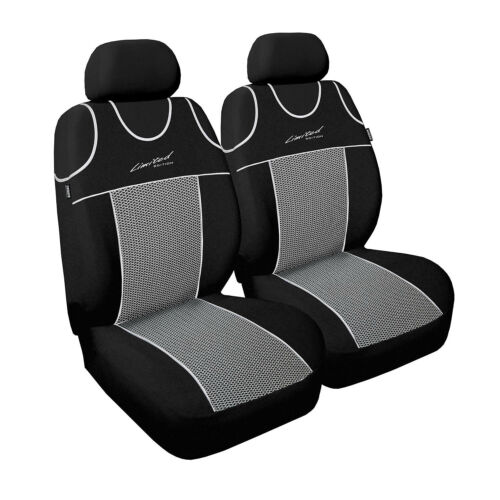 Universal Autositzbezüge Grau für Ford Mondeo Sitzbezüge Schonbezüge Schonbezug
