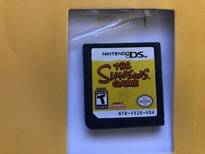 The-Simpsons-Game-Nintendo-DS-2007-Cartridge-Only-Tested