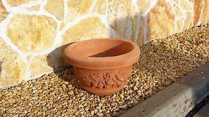 Terracotta-Cotto-Pflanztrog-Pflanzkuebel-Dekoration-Italien-Schale-Blumen-Garten
