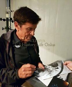 Gianni-Morandi-Sandra-Milo-Foto-Autografata-Autografo-Signed-Music-Cinema