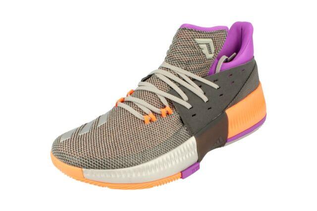 save off 7c80b 3e5b6 Adidas D Lillard 3 Mens Basketball Trainers Sneakers BB8270