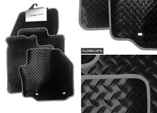 Renault Grand Scenic 2009-15 Fully Tailored Deluxe RUBBER Car Mats in Black