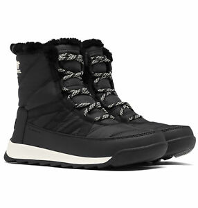 Ladies-Sorel-Whitney-II-Short-Lace-Waterproof-Warm-Nylon-Winter-Snow-Mid-Boots