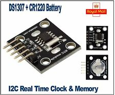 DS1307 I2C Rtc Real Time Clock Module, Arduino, PIC + BATTERIA CR1220 robotdyn