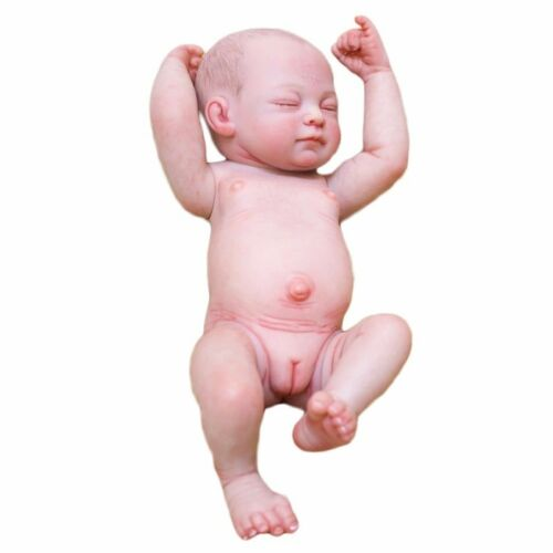 "10/"" Girl Full Vinyl Newborn Baby Dolls Toys Reborn Dolls Baby Handmade"