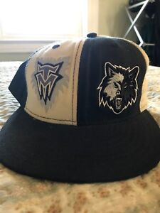 Minnesota Timberwolves New Era 59FIFTY Cap Hat Fitted Wolves Retro 2 ... 0608a9cc4299