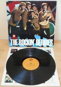 LP THE ROCKIN' BERRIES s/t (Pye Special 66 ITALY) 1st unique ps beat pop RARE VG