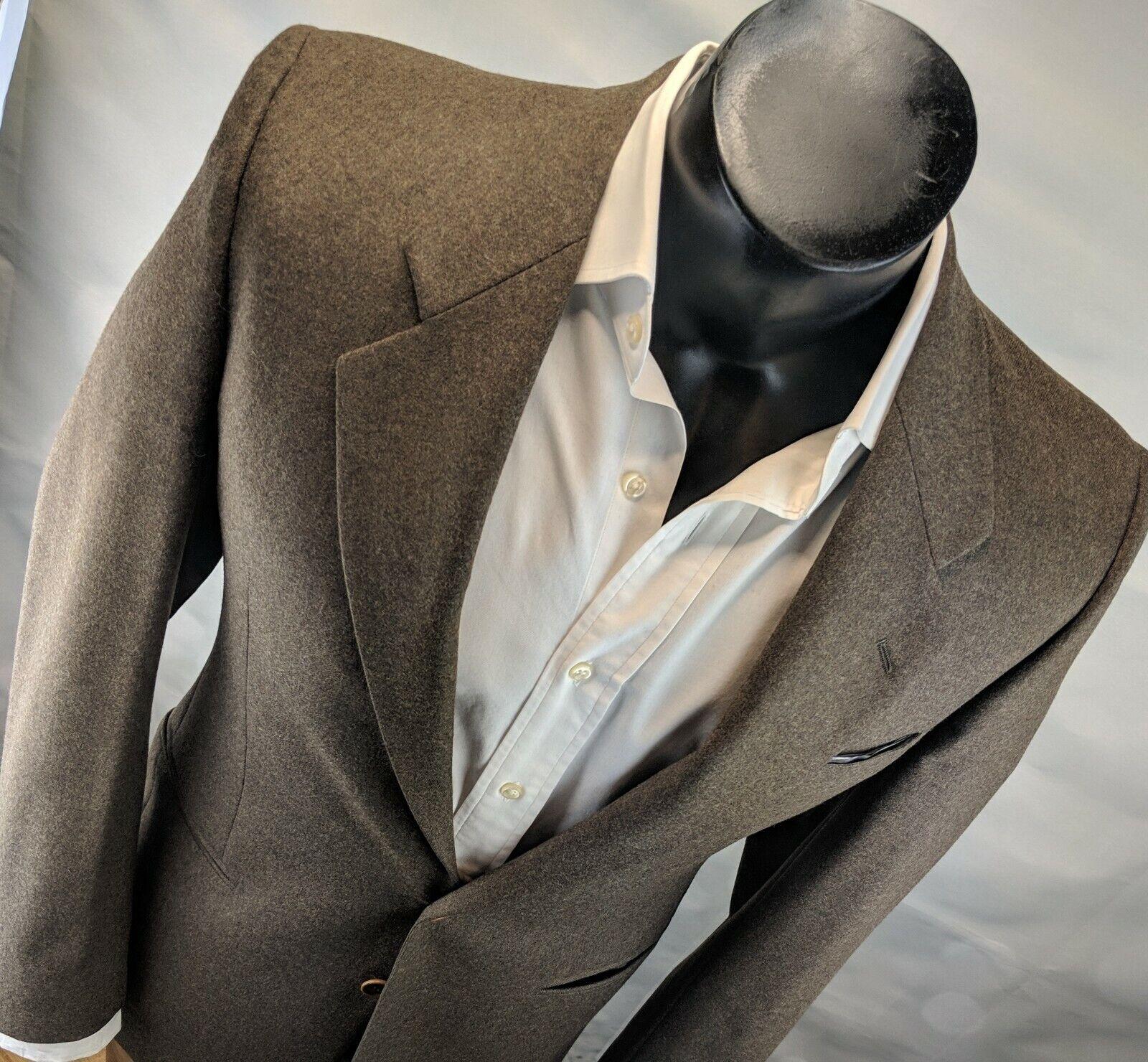 Lubiam Modern Men's blazer 2 Button 38R (48 Euro) 100% wool Msrp