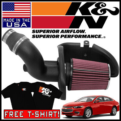 K/&N Performance Cold Air Intake System For 2016-2018 Chevy Malibu 1.5L L4