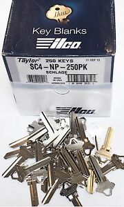 Taylor-SC4-Nickel-Key-Blanks