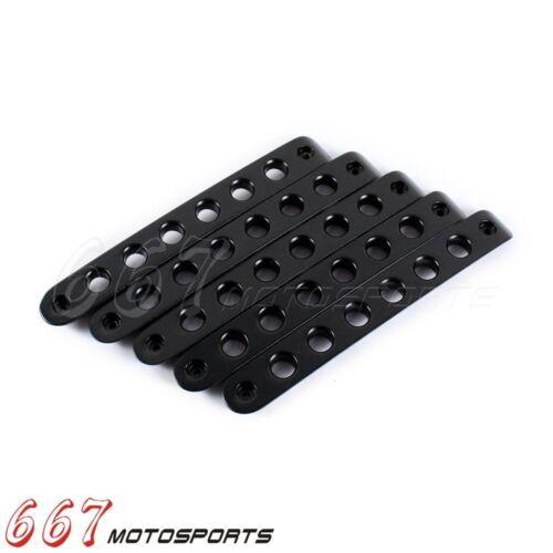 5x Door Grab Handle Tailgate Bar Trim Insert Cover For Jeep Wrangler JK Aluminum