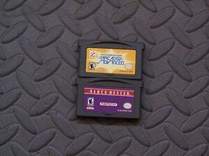 Lot Nintendo Game Boy Advance GBA Games Arcade Advanced + Namco Museum