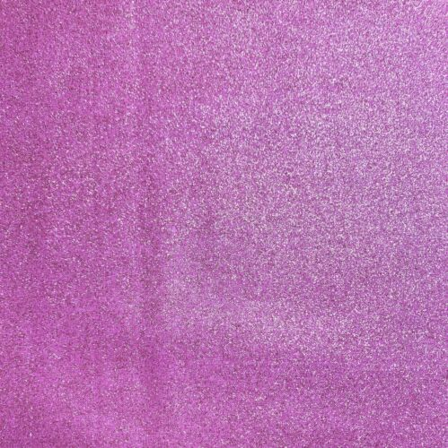 Per 1//4 Metre Visage Metallic Glitter Lilac Quilting Fabric