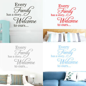 Removable-Family-Quote-Wall-Sticker-DIY-Art-Vinyl-Decal-Mural-Home-Bedroom-Decor