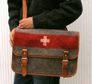 Details About New Switzerland Swiss Army Blanket Shoulder Handbag Bag Tote