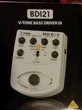 BDI 21 Bass Amp Modeler/ Direct Recording Preamp/DI Box