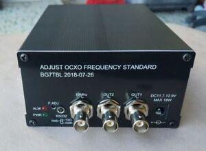 10K-180MHz-Adjustable-OCXO-Frequency-Standard-Reference-Square-wave-BG7TBL