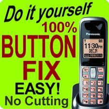 Panasonic Cordless Phone Keypad Button Fix KX-TGA641T KX-TGA641M  KX-TGA106M
