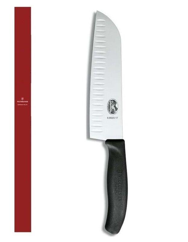 Victorinox 6.85232.17g Messer Santoku -wrap für Gemüse 17 Cm. (Swiss Made)