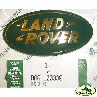 Land Rover Sport P38 LR3 Discovery Front Rear Logo Decal Emblem Badge Genuine