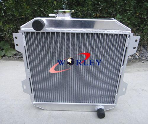 For Ford Capri MK1 2 3 Kent 1.3L 1.6L//2.0 Essex//Escort 1.6 Aluminum Radiator+FAN