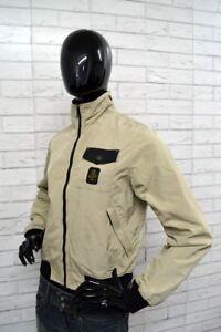 Giubbino-REFRIGIWEAR-Giacca-Primaverile-Donna-Taglia-Size-M-Jacket-Woman-Beige